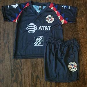 Club america kid's Soccer Uniform